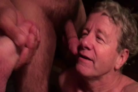Stu The penis-sucker Skull pounded By 2 Hung males